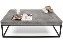 Betonový stolek