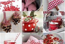 Piros fehér karácsony