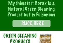 """Green Cleaning Mythbusters / We find that there is a lot of weird information out there about how to clean """"naturally"""". There are some great green cleaning ideas but some that could really harm you or your family."""