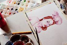 watercolor / by Elliot Mars