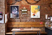 Coffeeshop interiors