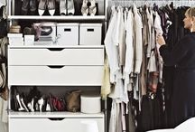 Walk-in closet & wardrobe