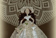 Crochet dolls