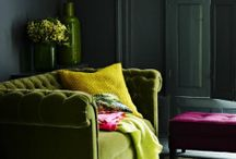 Split Complimentary Colour Interiors