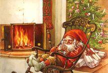 Joulukortit /taulut
