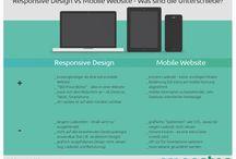 Responsive vs. Mobile / Unterschiede zwischen Responsive  vs. Mobile