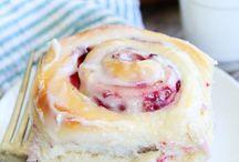 sweet raspberry rolls