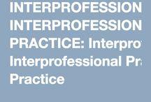 Interprofessional Practice