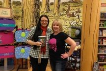 AUTHOR SIGNINGS / Sometimes I get out to meet and greet!