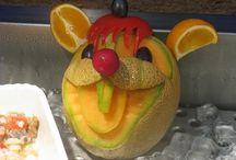 Decorative Fruit and Veg
