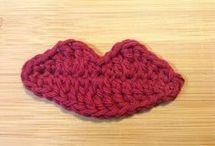 crochet lips
