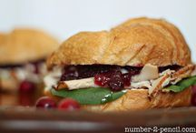 Food - Sandwich / by Marsha Bean
