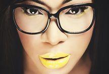 Beauty / Yellow lips#fab
