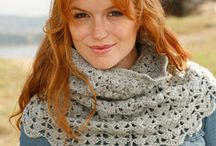Crochet Scarves & Cowls Patterns & Tutorials / Crochet patterns to try
