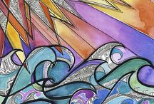 N / Paintings and illustrations by Neha Luthra. For more: www.nehaluthra.com