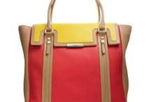 Handbags please.