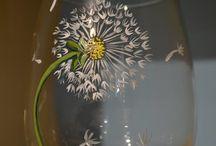 Glass paints