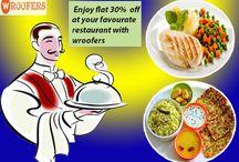 Veg Restaurants in Gwalior /  Plan for Dinner...Enjoy flat 30% flat off at your #favouraterestaurant with #wroofers coupon, Book Now..!! #restaurant #vegRestaurant #BestRestaurants