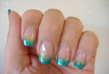 Nail design / Fingernails Toenails