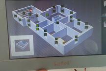 """INT-TSI / Centro di controllo """"tastiera"""" touch screen da 7"""" di Satel"""