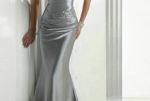 Silver Evening Dresses / Sleek, elegant and suitable for any occasion, silver evening dresses are a must have item for any fashion conscious female who wants to look her very best. This is because of the rather elegant and charming stance of the inexpensive evening dresses Silver, which are extremely comfortable, very sensual and elegant and will reflect very well on the lady who wears them. Why wear a silver evening dresses? So many ladies have no creativity or style, let alone imagination.  / by Luck Bridal