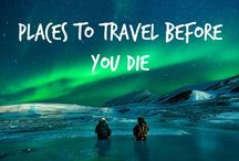 Travel Before You Die / The most spectacular, beautiful and amazing places to travel before you die.  Start discovering tours at www.yettio.com/trip-finder