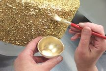 gold coverings