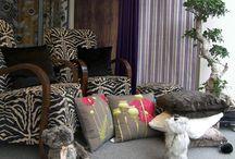 Sierkussens art-de-lys Cushions Veurne West-Vlaanderen / Art-de-lys sierkussens