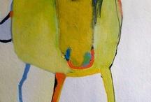 Kunst / Mest om gode fargekombinasjoner.. Men også tiltalende kunst