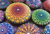 Piedras / piedras  pintadas