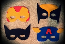 DIY Felt Face Masks / by Angie Benitez