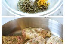 Recipes  / by Cissy Dombrowski