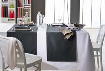 Le linge de table / Découvrez la gamme du linge de table du Fil de Charline: nappes, sets de table, torchons.  Une qualité irréprochable.