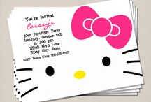 Ideeën voor Hello kitty feestje van Ceylin