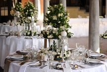 White and Silver with a touch of green / Wedding Décor done by Happily Ever After  Venue: Avianto, June 2012