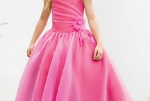 платья для девочек / Модели платьев