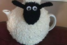 knitted teacosies