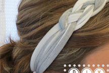 Felpas, pañuelos... Para nuestro pelo