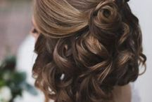 Formal hairstyles and makeup