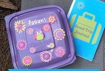 Upcycled Projects for Kids / Creative activities for kids using recyclable or reusable materials.