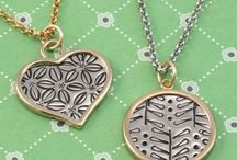 Stamped Jewelry / stamped jewelry - metal blanks with stamped images