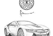 BMW Life Style / Gli esclusivi disegni realizzati unicamente per accompagnare le migliori vetture dei migliori clienti BMW Russia. Massimiliano Robino Design Style