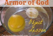 Armor of God / Bible lesson