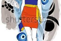 My Works- Woman Fashion