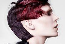 concept cut / sculptural hair styling