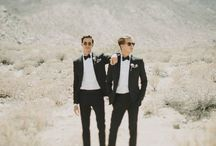 Two groomsmen