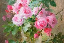 Картины цветочки