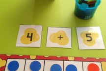 Kinder math / by Shannon Taylor
