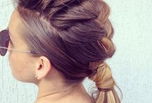 Wedding: updo's