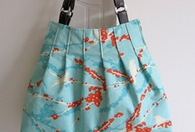 My Bags / Handmade Handbags I sell in my shop at www.emmalinebags.com / by Emmaline Bags & Patterns